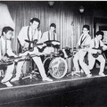THE EASTERN ACES - Nürnberg (oktober 1961) l/r: Tony Lentze, Wally Swärz, Loek Diks, Richard Bastiaans, Frans van den Brand