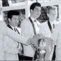 THE RAYLETTES ca.1964/1965  met de Nederlandse gitarist Paul van der Linden