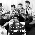THE QUICKLY JUMPERS 1963 vlnr: Albert Petitjean - Rob Gillet - Willy Butters - Jozef Kotta // Daan Takarindingan (voorgrond) (collectie Albert Petitjean)