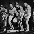 THE ROCKING SENSATION BOYS (Casablanca 1962) vlnr: Danny Meijer - Aad van Zadel - Herbert Hooijkaas - Hugo v.d. Jagt - Henk Schram - Jacques Eckhardt
