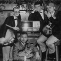 RUDY & THE ROYAL RHYTHMICS 1963-1964 vlnr: Ger Euverink - Rudy van Dalm - Cas Brandtz - Joop van Dam