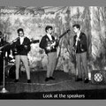 THE SUNDOWNERS met zanger Franky Montero - Clublokaal speeltuin Frankendael, Amsterdam-Oost (collectie: Chris & Pax Tielman)
