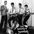 THE QUICKLY JUMPERS 1963 - vlnr: Willy Butters, Albert Petitjean, Jozef Kotta, Rob Gillet - zittend: Daan Takarindingan  (collectie Albert Petitjean)