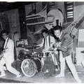 THE EASTERN ACES - Aschaffenburg (juni 1961) l/r:Bob Lammers, Richard Bastiaans, Loek Diks, Wally Swärz, Tony Lentze