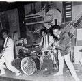 THE EASTERN ACES - Aschaffenburg (juni 1961) l/r:Bob Lammers, Richard Bastiaans, Loek Diks, Wally Swärz, Tony Lentze