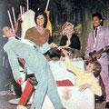 THE ROLLING THUNDER (Romance 11 feb. 1961 Hassim Lesteluhu (links) - Talib Turki (rechts)