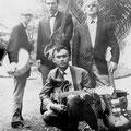 RUDY & THE ROYAL RHYTHMICS 1963-1964 vlnr: Ger Euverink - Cas Brandtz - Rudy van Dalm - Joop van Dam