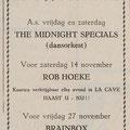 THE MIDNIGHT SPECIALS: De Vlissinger 5-11-1970