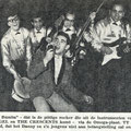 DANNY ANGEL & THE CRESCENTS - (line-up Omega recordings Nov. 1962) l/r: Benny Hilbink (drums), Pim Neijndorff (bass gt.), Peter Engel (Danny Angel), René Anthonijsz (rhythm gt.), Gerard Tubbergen (lead gt.)
