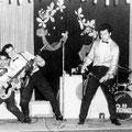 THE HURRICANE ROLLERS (1960) vlnr: Alphons Faverey - Hans Bax - Rudy (Blacky) Swart - Rudie Pieroelie - Rudy van Dorssen