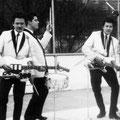 THE RAYLETTES 1964 vlnr: Danny Hartman - Oelie Ros - Eric Jahreis - Victor de Graaff - Teddy Grey