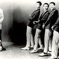 Jassy Amo & The Fire-Devils. Promotiefoto van Delta records. The