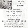 THE BRINKMAN BROTHERS - Zorba's, Edmonton, Canada