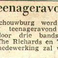 Krantenknipsel Brabants Nieuwsblad 12-09-1963