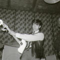 Eddy Chatelin in Beat House, Tivoli, Aalborg, Denemarken (mei 1965)