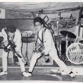 THE EASTERN ACES - Aschaffenburg (juni 1961) l/r: Tony Lentze, Wally Swärz, Richard Bastiaans, Loek Diks, Bob Lammers