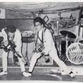 THE EASTERN ACES - Aschaffenburg (juni 1961) l/r: Tony Lentze, Wally Swärz, Richard Bastiaans, Loek Diks, Bob Lammers