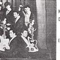 The Eastern Aces (ca. 1962/1963) met zanger Kris Doogan