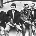 RUDY & THE ROYAL RHYTHMICS 1963-1964 vlnr: Joop van Dam - Cas Brandtz - Rudy van Dalm - Ger Euverink