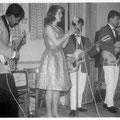 BOY & his ROLLIN' KIDS met zangeres Ilonka Biluska (1962)