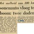 Krantenknipsel 31-7-1961