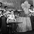 THE HURRICANE ROLLERS 1959 vlnr: Robby Latuperisa - Hans Bax - Guus 'Broer' Arends - Rob Boekholt - Finus Wattimena