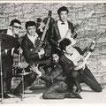 The Eastern Aces (ca. 1962/1963) vlnr: Loekie Diks, Harry Bredow, Tony Lentze, Joop Ketting Olivier, Frans vd Brand