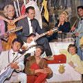 THE ROLLING THUNDER (Romance 11 feb. 1961) vlnr: Talib Turki - Samad 'Sammy' Ummarella (knielend) - Darwin Rengur - Hasim Lesteluhu - Karim Oppier