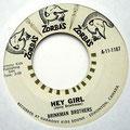 TTHE BRINKMAN BROTHERS - single 1967:  Hey Girl/Maria (Zorba's)
