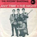 THE ROCKING SHADOWS 1963 vlnr: Ronny Pascaud - Ronny de Vries - Rob de Vries (knielend) - Maud Tan