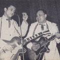 THE ROCKING DIAMONDS (links: Freek (Franky) Franken) (Muziek Parade 1960)