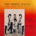 THE WHITE WAVES - platenhoes 1965 vlnr: Micky Oppier - Eddy Noya - Sammy Noya (zittend) - Andy Noya