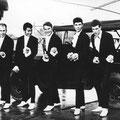 THE HITFIGHTERS  vlnr: Aad van Zadel - Ronnie Günthart - Jack Harreman - Rob Harreman - Dick vd Winkel