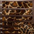 Fellimitat giraffe braun klein