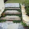 エントランスの階段