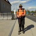 Ankunft in Bad Radkersburg, Grenze