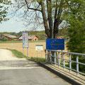Grenze zu Slowenien