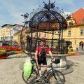 der Kornmesserbrunnen am Hauptplatz in Bruck an der Mur