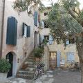 schöne Altstadt in Grado
