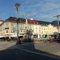 am Hauptplatz in Leoben