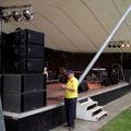 15.06.2011 Seebühne Musikanlage PA Nexo