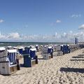 warnemünde an der ostsee - strand