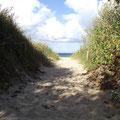 warnemünde an der ostsee - strandzugänge
