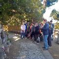 会津藩士の墓 この中に11基 能満寺(曹洞宗) 開山1644年