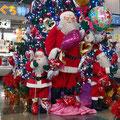 山口宇部空港のクリスマスツリー