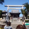 為朝神社 虎踊りで有名