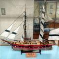 長川ドックで初めて建造された洋式帆船軍艦「鳳凰丸」(1854完成)