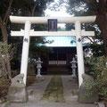 日枝神社、三浦市初声町高円坊。 和田と高円坊は同義で三浦市の北部のこと