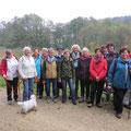 Die Wanderer des Kneippvereins Amberg