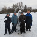 Wir bauen einen Schneemann